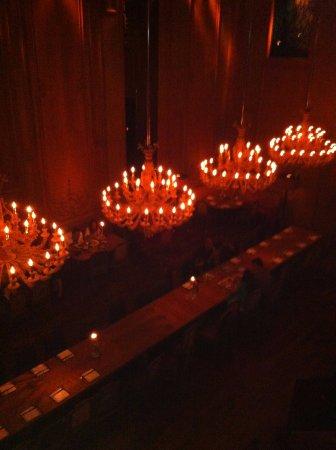 Buddakan: tavolo centrale