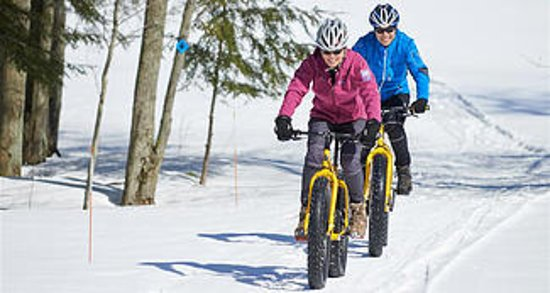 Bethel, ME: Cross Country skiing, snowshoeing, fat tire mountain bikes... it's all here!