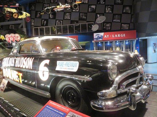 Daytona International Speedway Tour: 1952 Hudson Hornet stock car