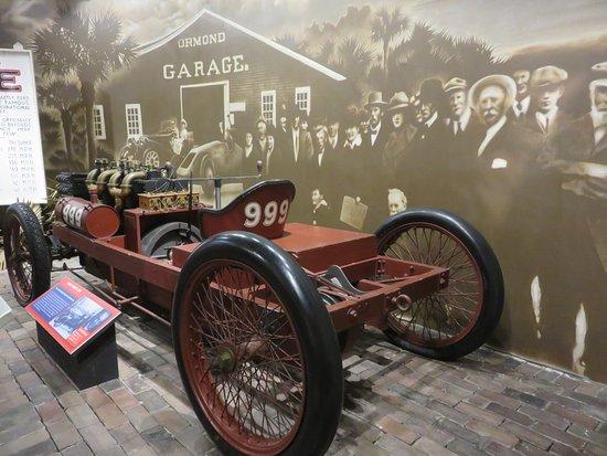 "Daytona International Speedway Tour: Henry Ford's 1902 model ""999"" in the Heritage of Daytona display"