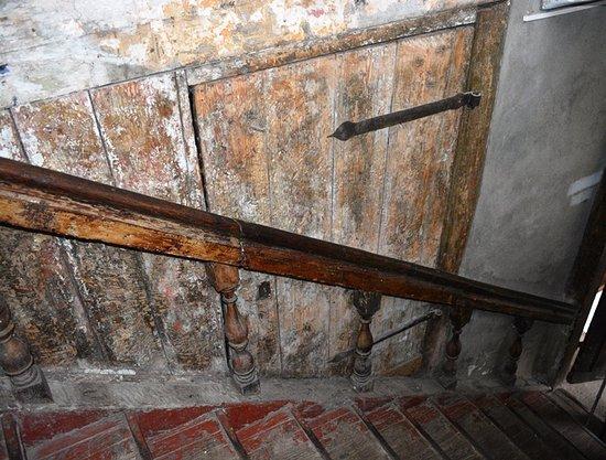 Chernyakhovsk, Russia: Лестница, ведущая, на второй этаж.