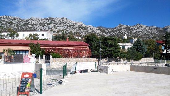Karlobag, Kroatië: ancora la terrazza