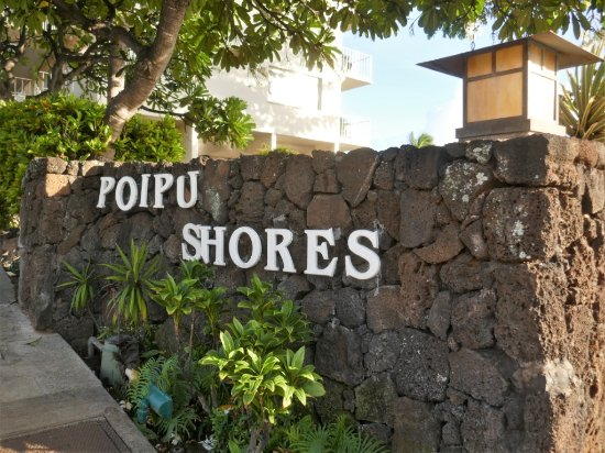 Poipu Shores Resort: Entrance