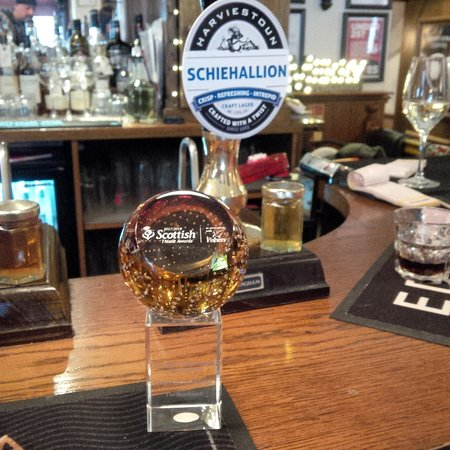 Cupar, UK: Schiehallion pump and the award
