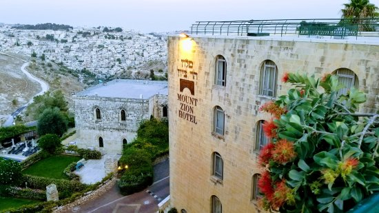 Mount Zion Hotel: Great views of the city