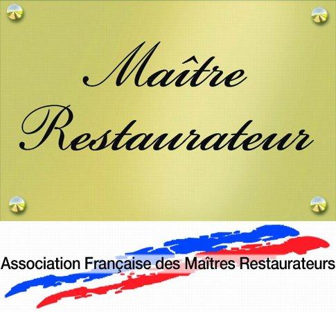 Bellegarde, Francia: Nous sommes passes Maitre Restaurateur depuis le 1er Novembre, c 'est un Label Produits Frais.