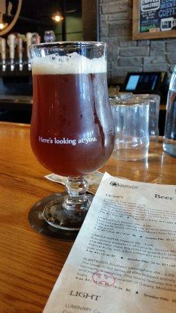 Hudson, MA: Beer at the bar!