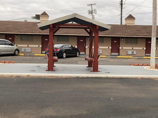 Elk City, Οκλαχόμα: Swing outside