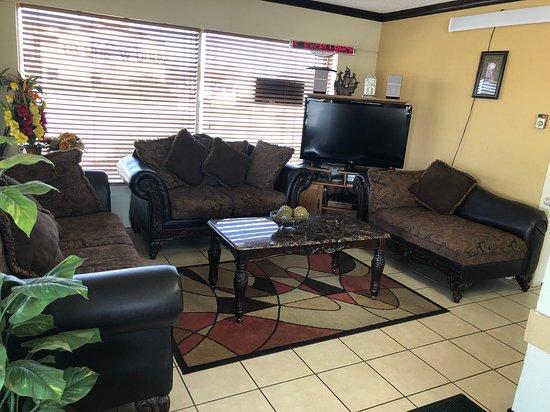 Elk City, Οκλαχόμα: Lobby waiting room