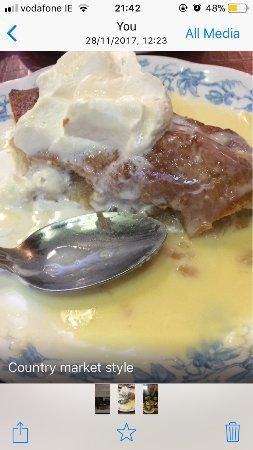 Castleisland, Irland: Tasty dessert