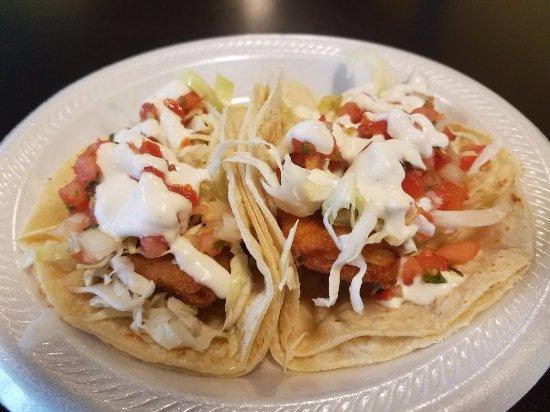 Spring Hill, TN: Fish Tacos from Cali Burrito