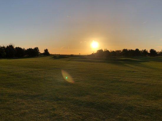 Drumoig, UK: Sunrise