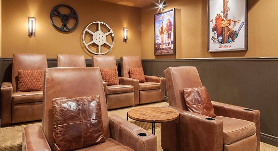 The Cliffs At Long Creek Presidential Theater Room Seating