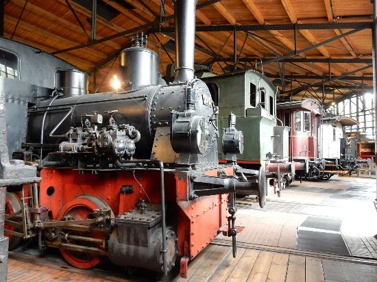 Deutsches Technikmuseum: Excellent train collection