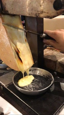 Stains, Francia: Raclette fromage AOP