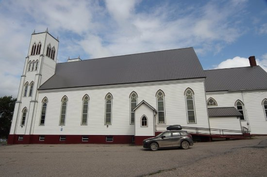 Little Bras d'Or, Canada: A neat beautiful church