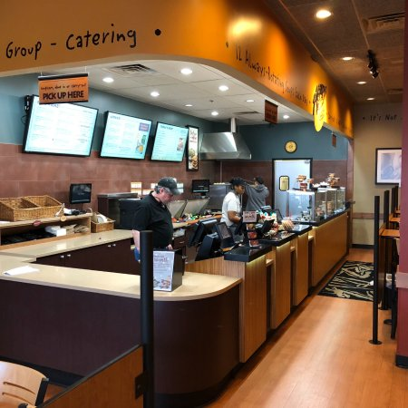 Glenview, IL: You order at the counter and they call when it's ready.