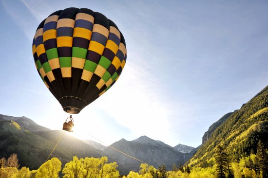 Mountain Village, CO: Telluride Balloon Festival