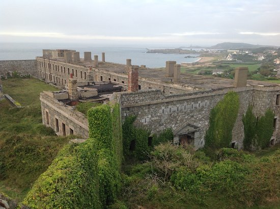 Alderney, UK: Inside Fort Tourgis