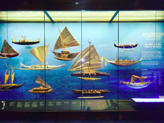Bishop Museum: Excellent exhibits of mariners history