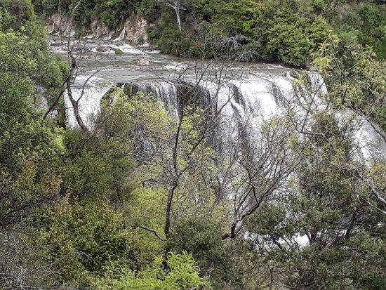 Waione, Nouvelle-Zélande : View from view platform