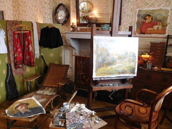 Renoir's Painting Studio in Essoyes
