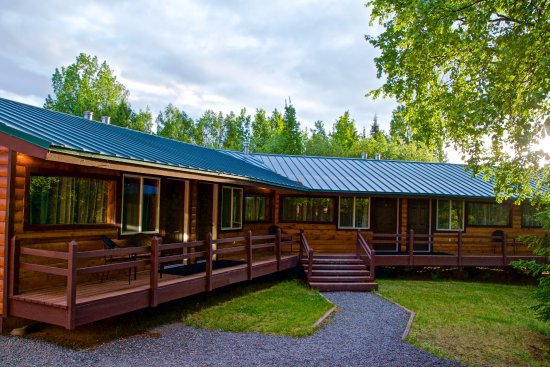 Sterling, AK: Rooms 1-6 nearest Main lodge building