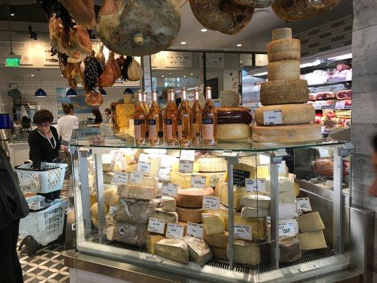 Eataly: Cheese counter