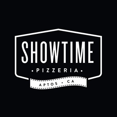 Aptos, CA: Official Showtime Pizzeria branding.