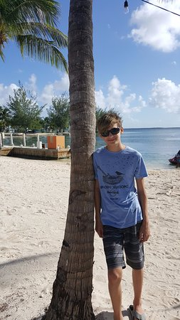 North Side, Grand Cayman: On the beach at Kaibo