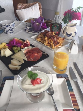 Winniehill Bed & Breakfast : spectacular breakfasts