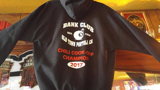 Portola, CA: Bank Club