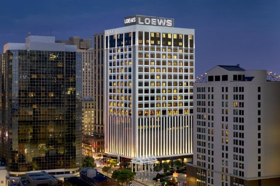 Loews New Orleans Hotel: Exterior At Night_High Res