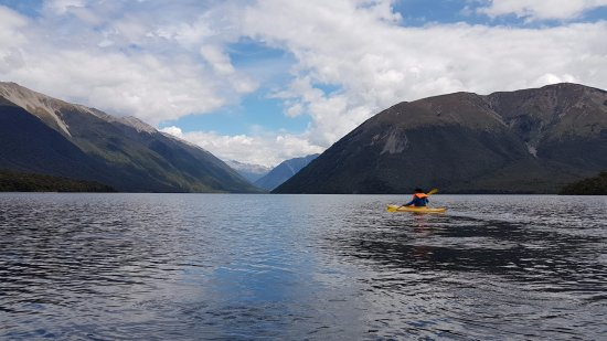 Nelson-Tasman Region, New Zealand: At Nelson Lakes National Park - Lake Rotoiti
