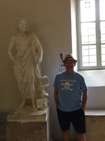 Epidavros, Greece: With Asklepios