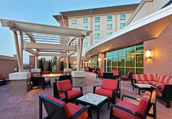 La Vista, NE: Courtyard Firepit and Patio