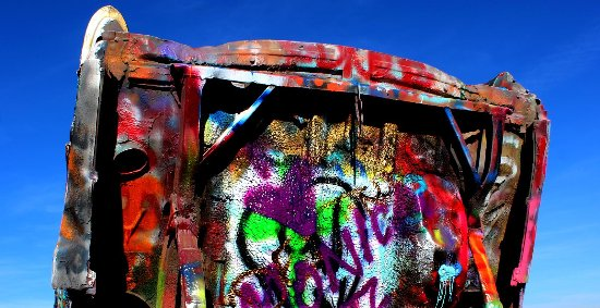 Cadillac Ranch, Amarillo, Texas (I40/Rt.66)