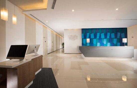 Yancheng, China: Hotel Lobby