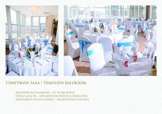 Chinggis Khaan Hotel: TEMUUJIN Banquet Hall