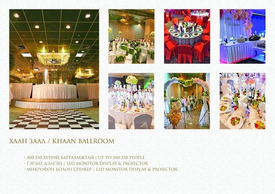 Chinggis Khaan Hotel: KHAAN Banquet Hall
