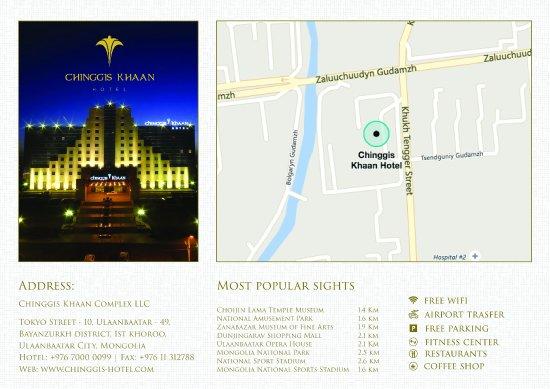 Chinggis Khaan Hotel: Info