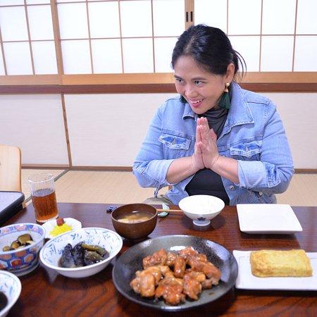 CookJPN: Tradtitional meal (Fried, simmerd, Pickled Eggplants. Teriyaki chicken ,Japanese rolled omerette