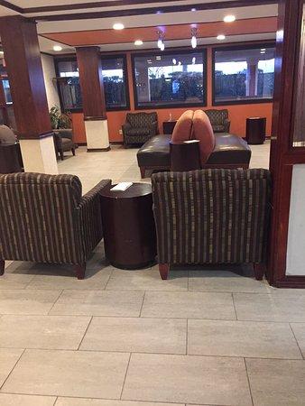 Wyndham Garden Newark Airport: lounge area