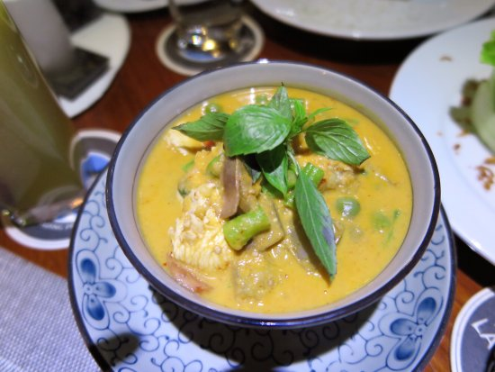Blue Lagoon Restaurant: Red curry with chicken