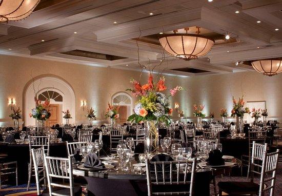 Marriott Plaza San Antonio: Hidalgo Ballroom Banquet