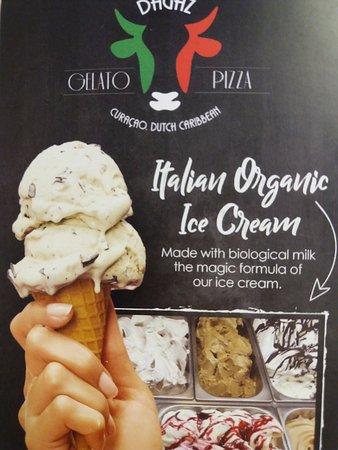 Dagaz Gelato: the only italian ice cream in Punda!