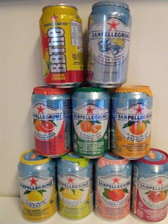 Dagaz Gelato: All the S.Pellegrino drinks
