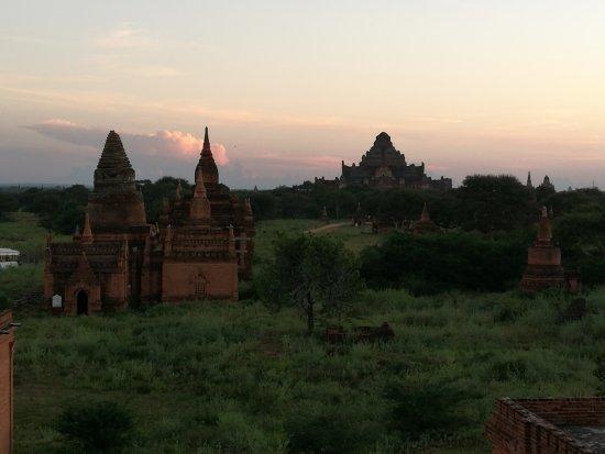 Bagan Temples: Top view