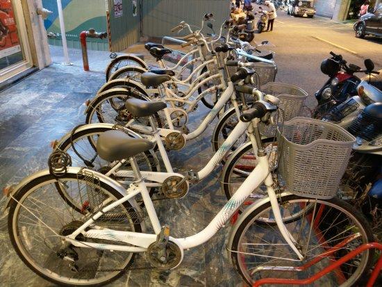 Jia-Jia-at West Market Hotel: 腳踏車