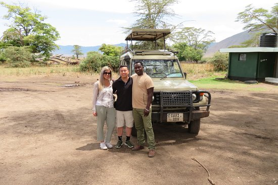Shadows of Africa: With our guide, Dickson!!